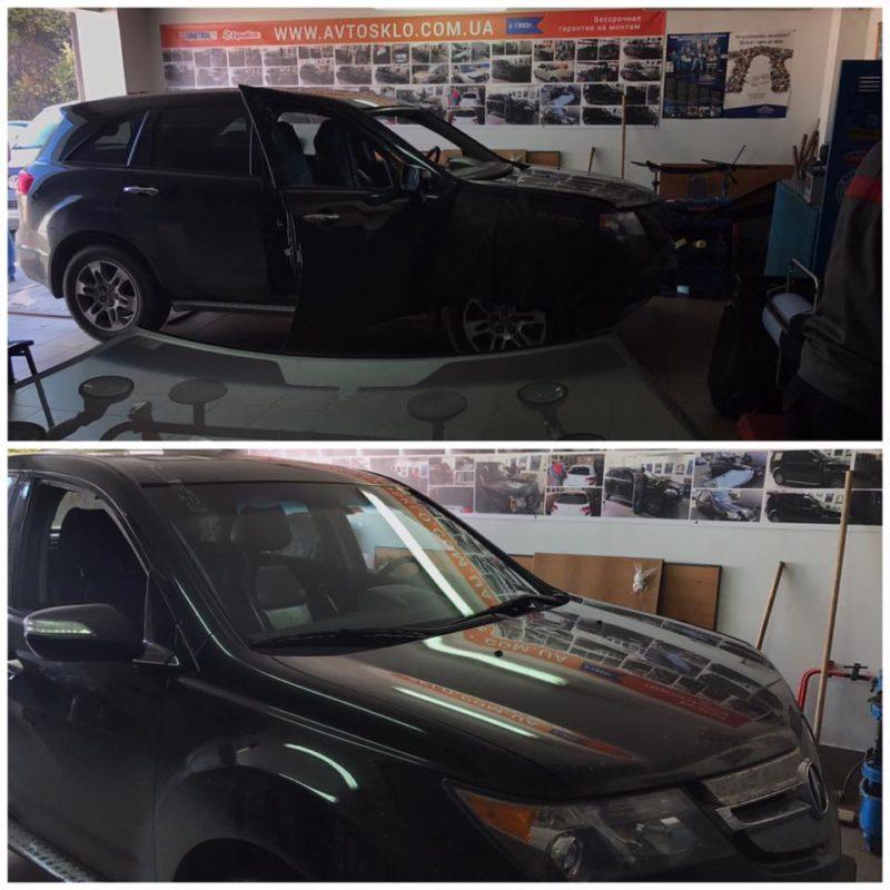 Acura MDX замена лобового стекла