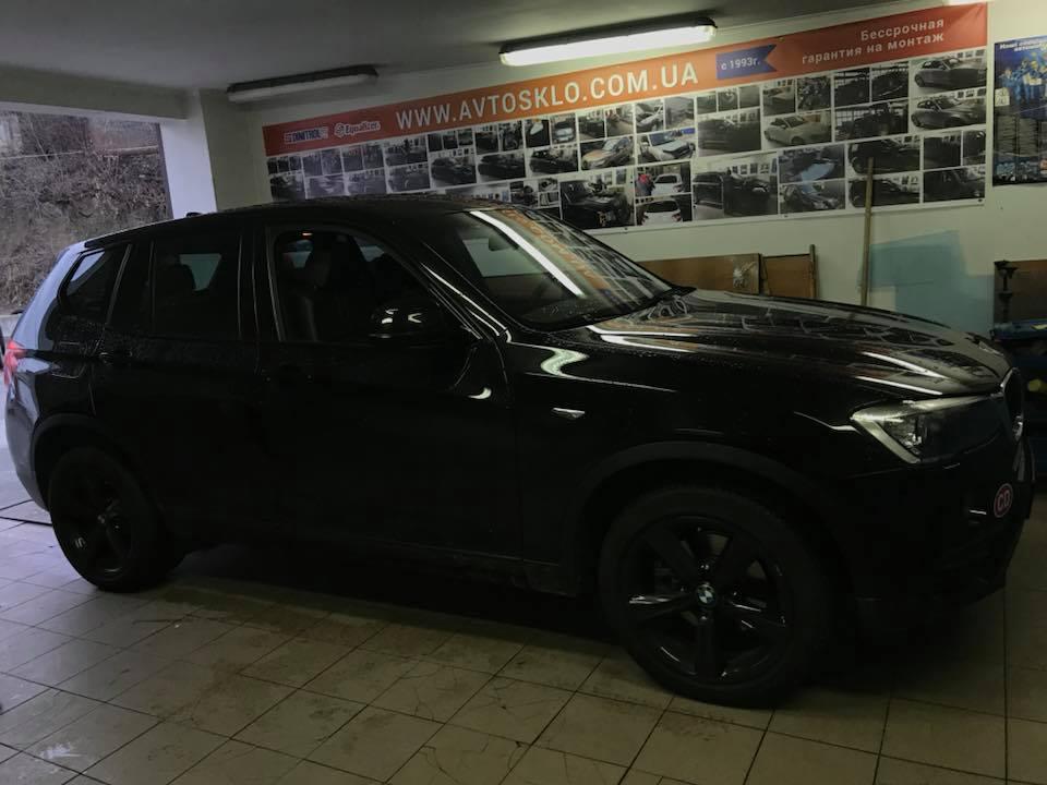BMW X3 f25 замена бокового стекла